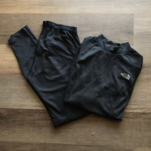 Women's North Face Thermal base-layer Top & Bottom